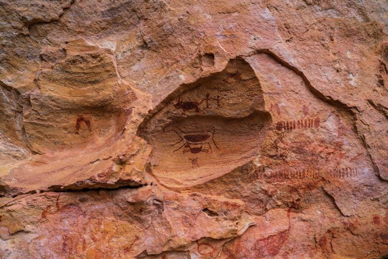 Os Encantos da Serra da Capivara, um dos roteiros com o Elemento da Natureza, Terra
