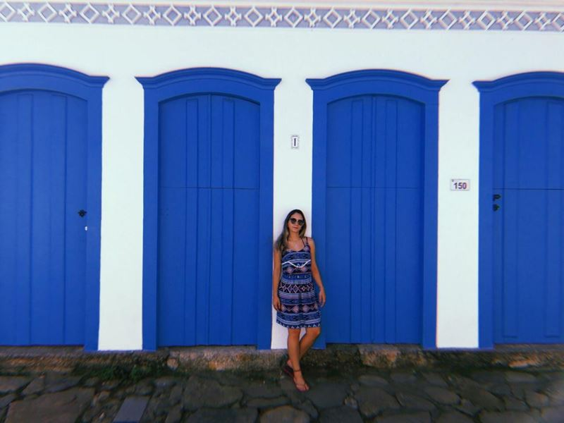 Paraty no Rio de Janeiro, um dos lugares visitados pela Caroline Alves, a especialista em social media da Adventure Club