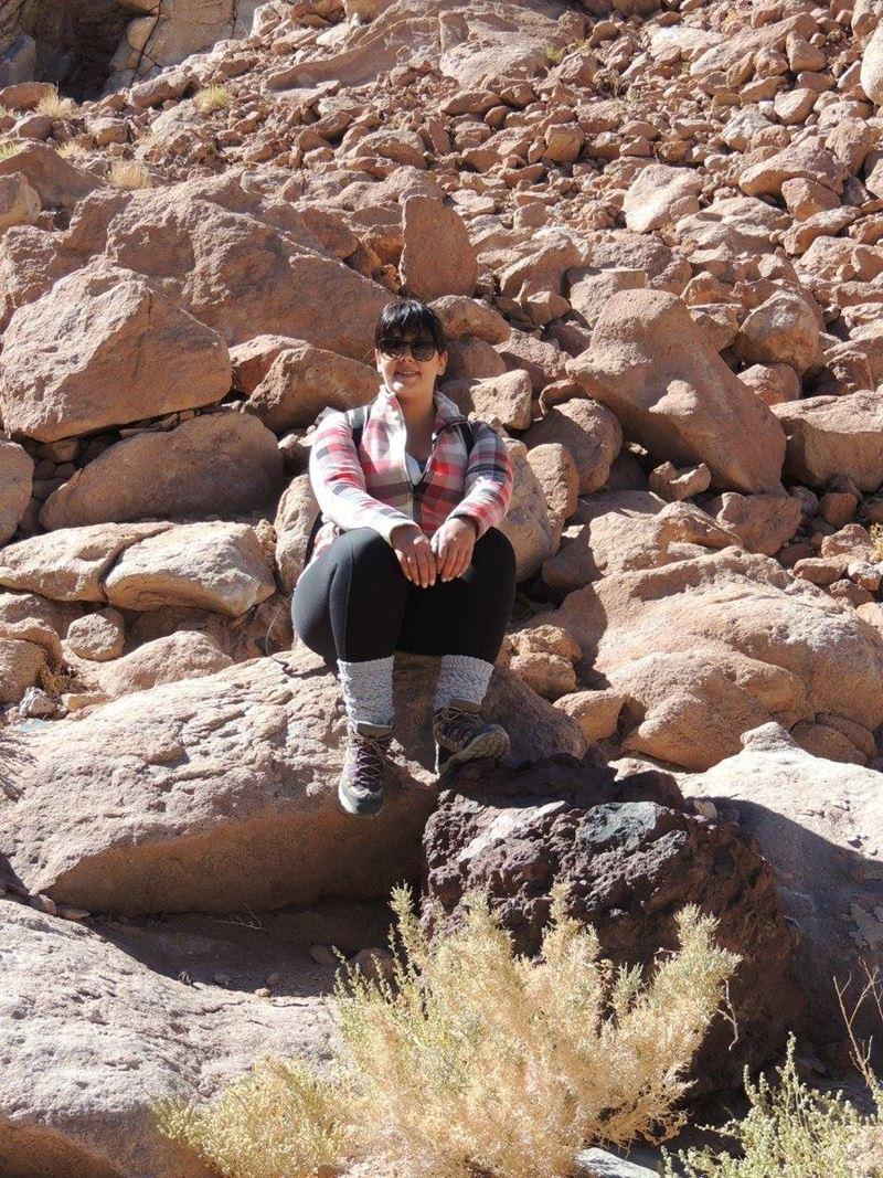Quebrada de Los Cardones, um dos lugares onde Thalita Pereira a analista da Adventure Club viajou