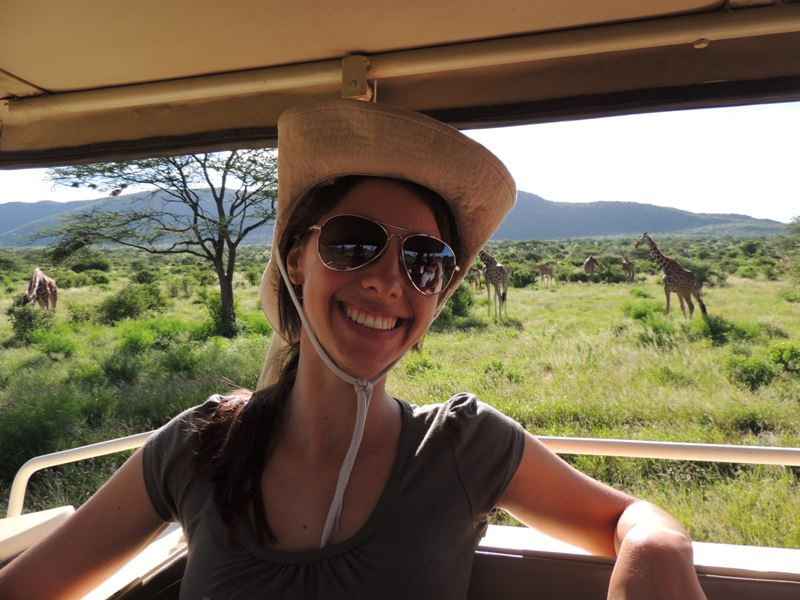 Safari Quênia e Tanzânia, um dos lugares onde a analista de produtos nacionais da Adventure Club Mariana Andrade conheceu