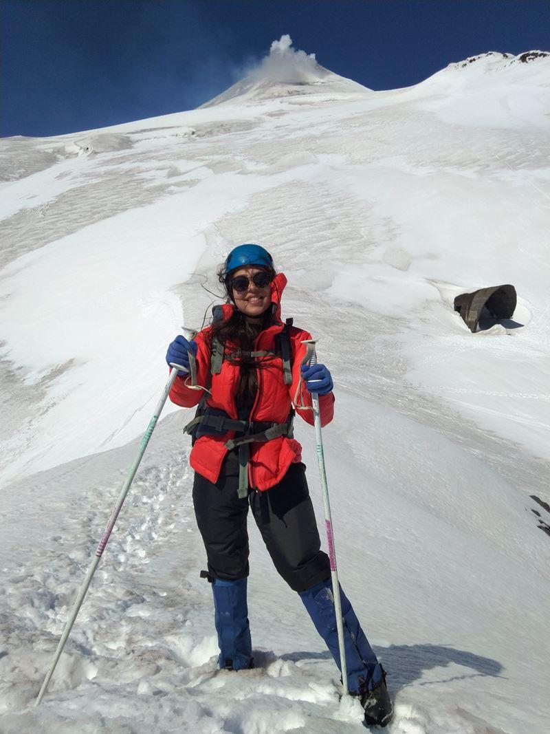 Vulção Villarrica em Pucón, um dos lugares onde  Thais Lelli, redatora da Adventure Club visitou