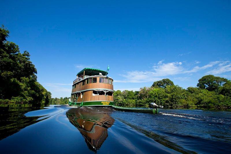 Juma Amazon Lodge, um dos lugares onde não sentiremos falta da internet