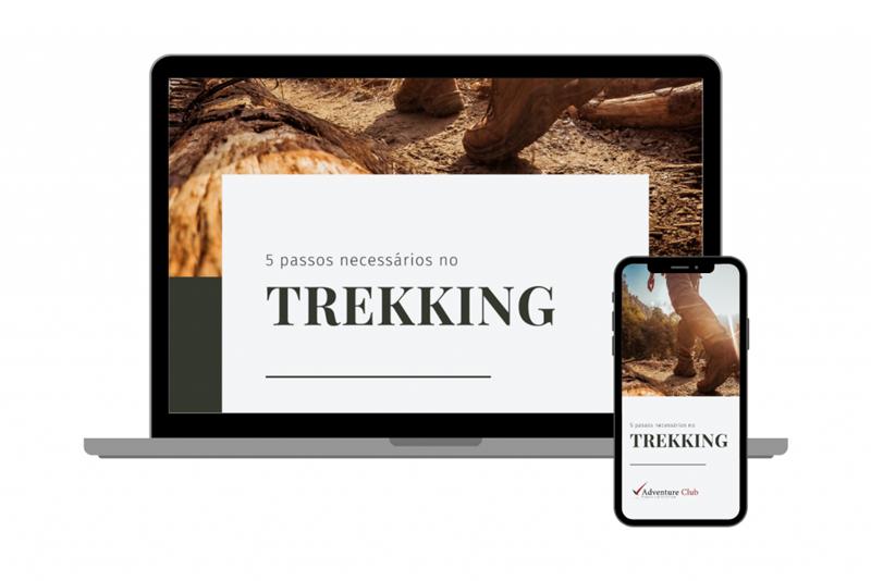 5 passos necessários no trekking
