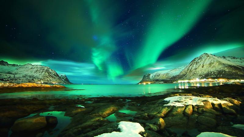 Noruega, um dos lugares para ver a Aurora Boreal