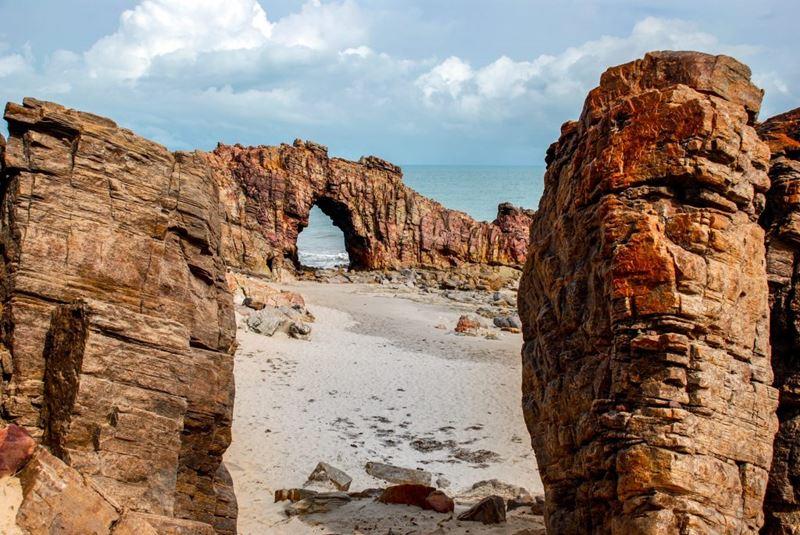 Parque Nacional de Jericoacoara, um dos 14 parques nacionais do Brasil