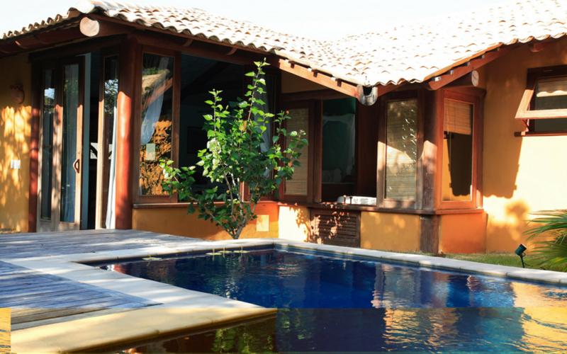 Pousada Estrela d'agua Trancoso um dos hotéis brasileiros onde seu pet é muito bem vindo