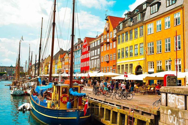 Dinamarca um dos países mais felizes do mundo 2021