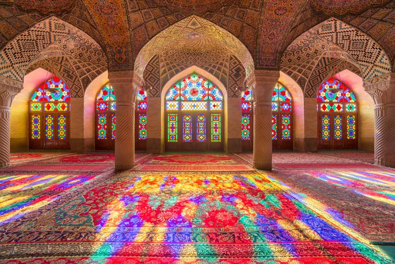 Mesquita Nasir-ol-molk no Irã