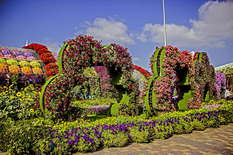O maior jardim de flores do mundo