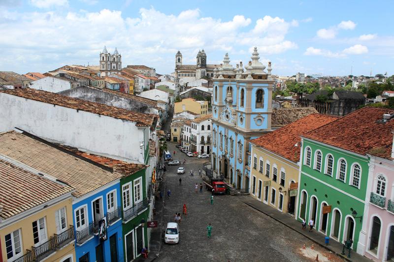 Pelourinho em Salvador - Bahia