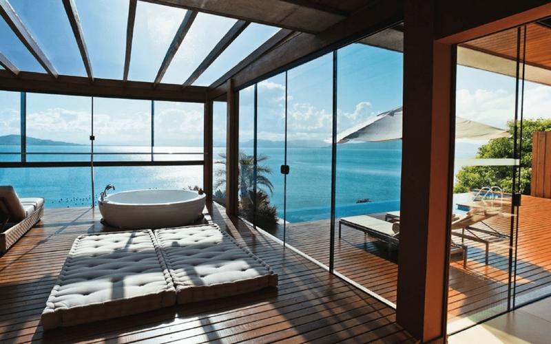 Ponta dos Ganchos Exclusive Resort , um dos lugares para fazer staycation