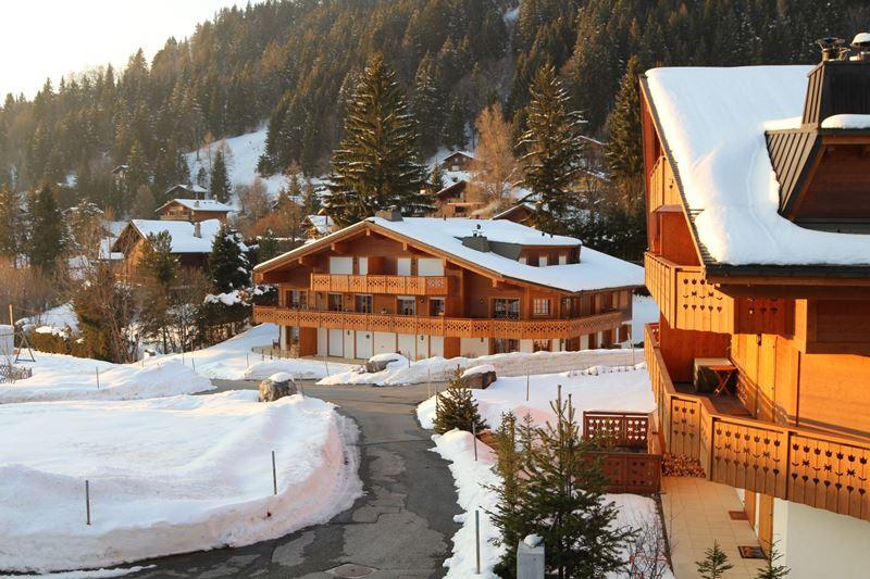 Chamonix na França, um dos lugares onde mais neva