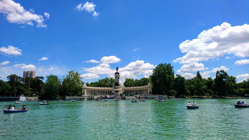 Paseo del Prado e Parque el Retiro de Madrid na Espanha, um dos Patrimônios Mundiais da Unesco de 2021