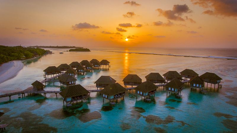 Nascer e por do sol, uma das imperdíveis atividades de Maldivas
